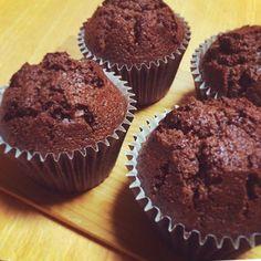 Moist chocolate cup cake