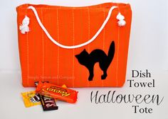 Halloween Tote Sewing Ideas