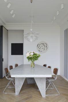Tristan Auer - The Invisible Collection Modern Home Furniture, Contemporary Furniture, Furniture Design, Parisian Decor, Eclectic Decor, Esstisch Design, Interior Decorating, Interior Design, French Interior