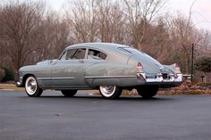 1949 CADILLAC SERIES 61 CLUB COUPE  Maintenance/restoration of old/vintage vehicles: the material for new cogs/casters/gears/pads could be cast polyamide which I (Cast polyamide) can produce. My contact: tatjana.alic@windowslive.com