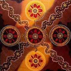 View the largest range of contemporary Aboriginal art and artefacts in Sydney. Aboriginal Symbols, Aboriginal Dot Painting, Naidoc Week, Stippling Art, Magic Design, Arte Tribal, New Media Art, Celtic Art, Magic Art