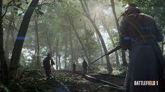 Battlefield 1 Soldiers in Forest Wallpaper