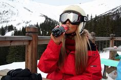 girl skiing tumblr - Google Search