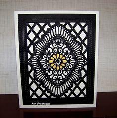 Ann Greenspan's Crafts: Beverly Hills Floral card