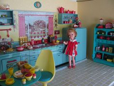 Welcome to my kitchen! by Retro Mama69, via Flickr