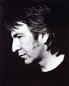 Alan Rickman, one of my favourite actors... yum yum...