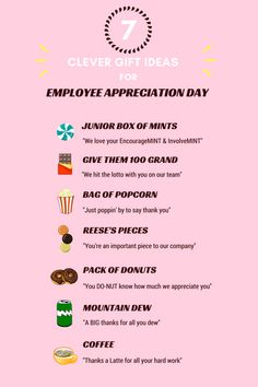 appreciation gifts Super Diy Gifts For Teachers Employee Appreciation Ideas Employee Appreciation Gifts, Employee Gifts, Volunteer Appreciation, Teacher Appreciation Week, Employee Rewards, Employee Wellness, Workplace Wellness, Staff Gifts, Teacher Gifts