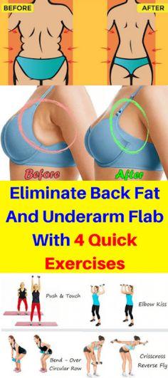 Dangkor: Eliminate Back Fat & Underarm Flab & 4 Quick Exercises