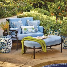 Inspired by the timeless beauty of and century European artisans, the Chinoiserie Garden Stool adds cultured charm to patios and garden sitting areas. Outdoor Rooms, Outdoor Living, Outdoor Furniture Sets, Outdoor Decor, Garden Furniture, Plywood Furniture, Urban Deco, Garden Sitting Areas, Muebles Shabby Chic