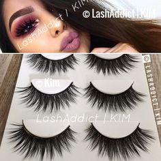 3925bf1eee3 3 GLAM Mink Lashes 3D Eyelashes Siberian Fur Makeup Extension • US SELLER  #3Mink Mink