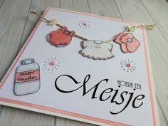 Babykaart meisje / Card baby girl