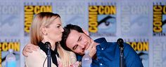 Jennifer Morrison & Colin O'Donoghue at the San Diego Comic Con Once Upon a Time Panel (July 23, 2016)