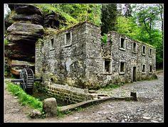 Dolský mlýn (národní park České Švýcarsko - Jetřichovice)