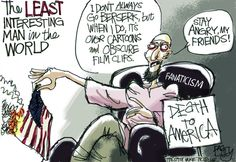 """""""Crazy Over Cartoons""""  This Pat Bagley editorial cartoon appeared in The Salt Lake Tribune on Sunday, Sept. 23, 2012."""