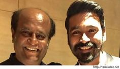 Rajini lauds Dhanush's Pa Pandi; asks him to take a break from direction - http://tamilwire.net/60580-rajini-lauds-dhanushs-pa-pandi-asks-take-break-direction.html