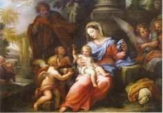 https://flic.kr/p/QyP224 | Holy Family With Angels | Christmas card with a painting called Holy Family with Angels by Jan Brueghel (1568 - 1625).  Sent to me by a family friend.