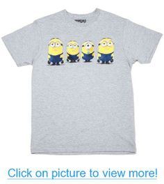 Despicable Me - Where's the Party Minion - T-Shirt #Despicable #Party #Minion #T_Shirt