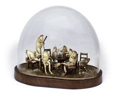 Extremely rare Victorian Era snow globe.  Royal George Museum, London, 1845-50.