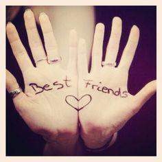 Oggi la mia migliore amica mi ha fatto ridere mandandomi un'immagine che si ricollegava a un episodio della nostra infanzia. Ho fatto il conto, e siamo amiche da quasi 28 anni. Questo mi ha fatto pensare di nuovo a una cosa: non conta quanto ci vediamo/scriviamo/sentiamo, lei sarà sempre LA amica del cuore ♥♥♥  #100daysofhappiness #day46 #migliore #amica #quasi #28anni #LAmigliore #cuore #best #friend #ever