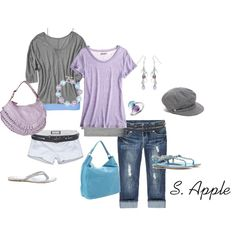 """Lavender Blue"" by sapple324 on Polyvore"