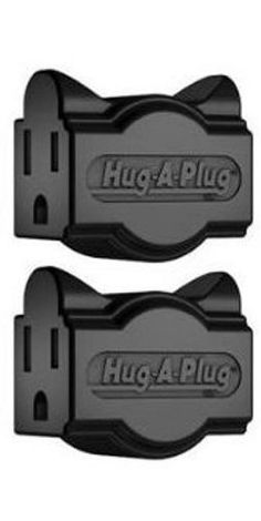 Hug A Plug – This adapter lets you turn one wall outlet socket into two, and plug into difficult-to-reach outlets behind furniture and appliances. If you are working on a countertop, you'll notice you get more space …