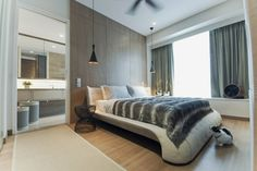 Trillium by TOPOS Design Studio || master bedroom with bath
