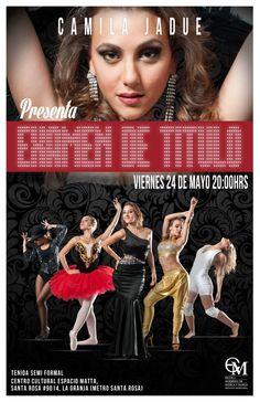 Graduación de Danza, Camila Jadue