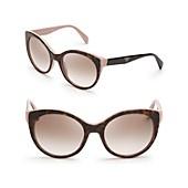 Prada Oversized Cat Eye Sunglasses