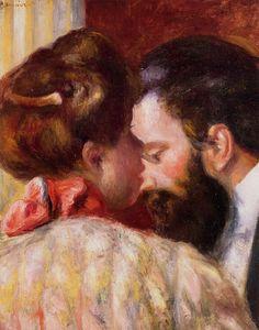 Confidence.Pierre-Auguste Renoir (1841 - 1919)