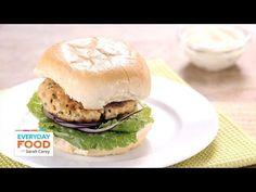 Gingery Salmon Burgers - Everyday Food with Sarah Carey