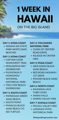 US vacation ideas. places to visit in the united states. big island hawaii things to do list. beautiful world travel destinations with best places to visit in hawaii, in the US. outdoor travel tips. us, usa, america