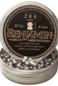 Benjamin-25-Cal-278-Grains-Domed-200ct-0