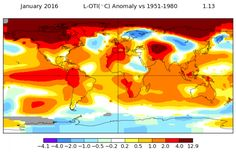 January Crushes Global Temperature Record (Not In A Good Way)