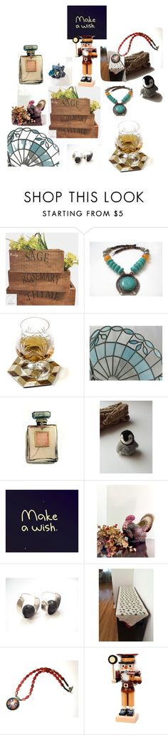 """""""Make a Wish"""" by anna-recycle ❤ liked on Polyvore featuring Chanel and Frontgate"""