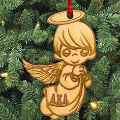 Alpha Kappa Alpha Sorority Christmas Ornaments