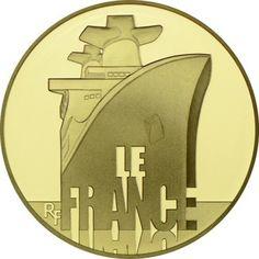 Französische Schiffe: France - 1/4 Unze