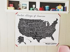 home state personalized return address stamps / paper pastries