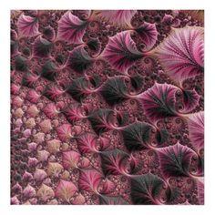 Pink Fractal Acrylic Wall Art  $78.18  by Kaleiope_Studio  - custom gift idea