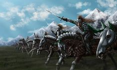 Charge of the Knights by Manweri.deviantart.com