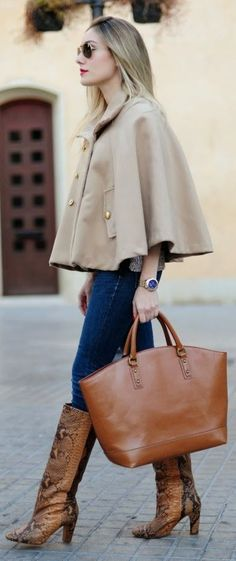 Camel Look by Personal Style.  Hmm, these are all very interesting elements.  I'll need to check some of this out!