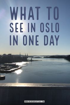 Oslo is a beautiful city and extremely tranquil and peaceful. That doesn't mean there isn't plenty of things to do in Oslo. Depending on what to see in Oslo in one day depends on how much you want to see. Europe Travel Tips, Travel Advice, Travel Destinations, Budget Travel, Visit Oslo, Exotic Places, Most Beautiful Cities, Solo Travel, Family Travel