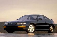 1993 Honda Prelude, exactly as mine looked.  The best car I've ever owned.