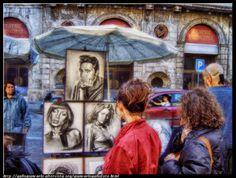 fotografie e altro...: Ritrattista di strada - HDR - photographic process...