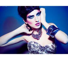Photo: Alex Evans; Makeup: Logan Salter. I am in LOVE with this look! Sickening!