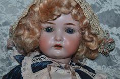 "Antique Doll Simon & Halbig  Kammer & Reinhardt Bisque Doll 26"" TALL"