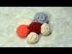 Crochet little ball, Tutorial