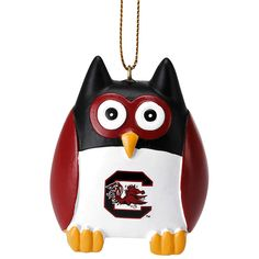"South Carolina Gamecocks 2.5"" Owl Ornament - $7.99"