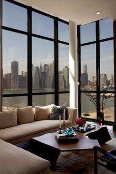 Go Inside Athena Calderone's Seriously Beautiful BK Digs #refinery29 views  home interior design