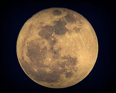 Full Moon on April 6, 2012 by KariHak, via Flickr