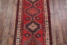 Vintage Geometric Tribal Runner Ardebil Persian Oriental Rug x Kitchen Rug, Afghanistan, Runes, Oriental Rug, Primary Colors, Persian, Bohemian Rug, Vintage, Kitchen Carpet